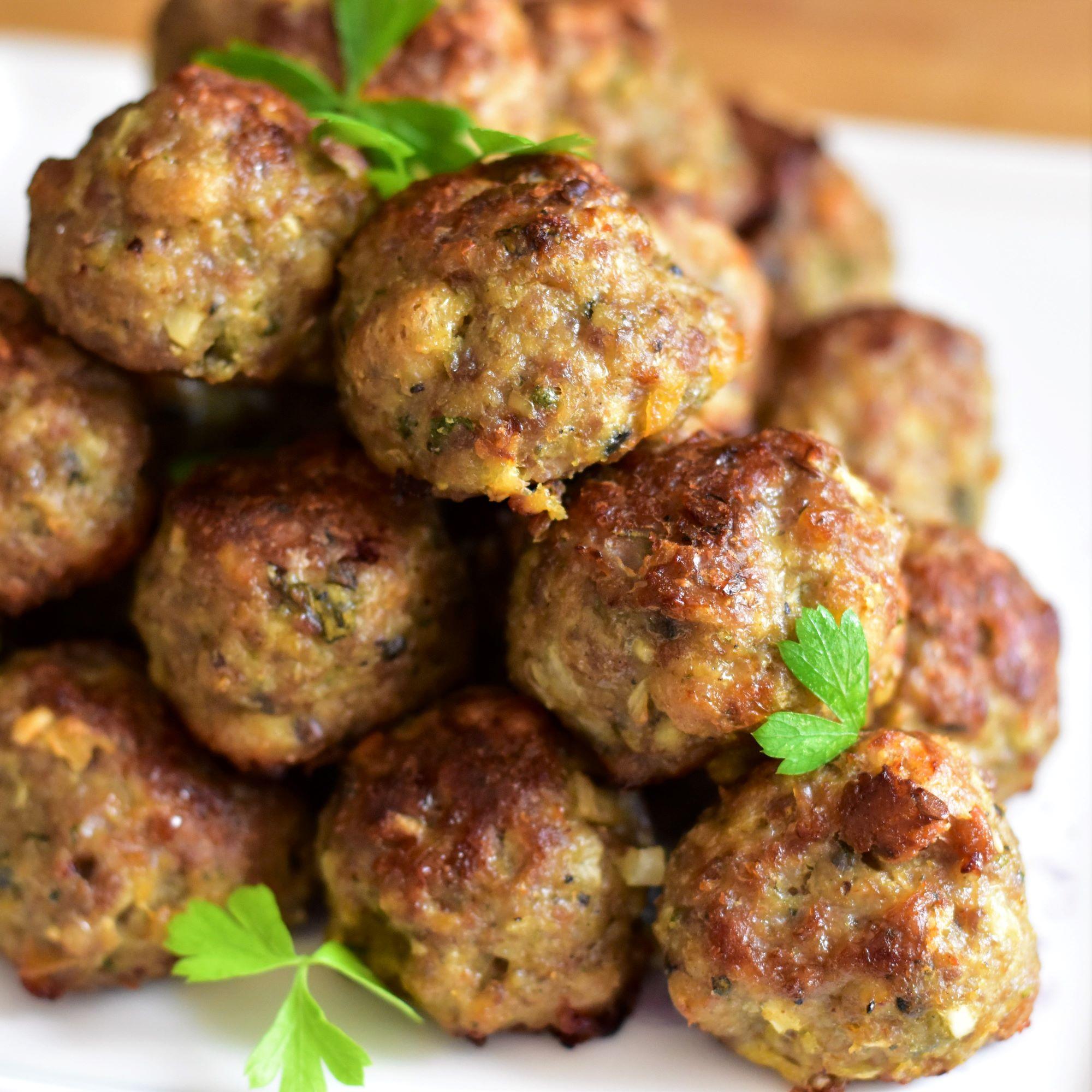 Margaret's Keftedes (Greek Meatballs)