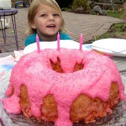Soda Pop Strawberry Angel Food Cake