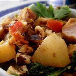 Chicken Sweet Potato Skillet Linda T