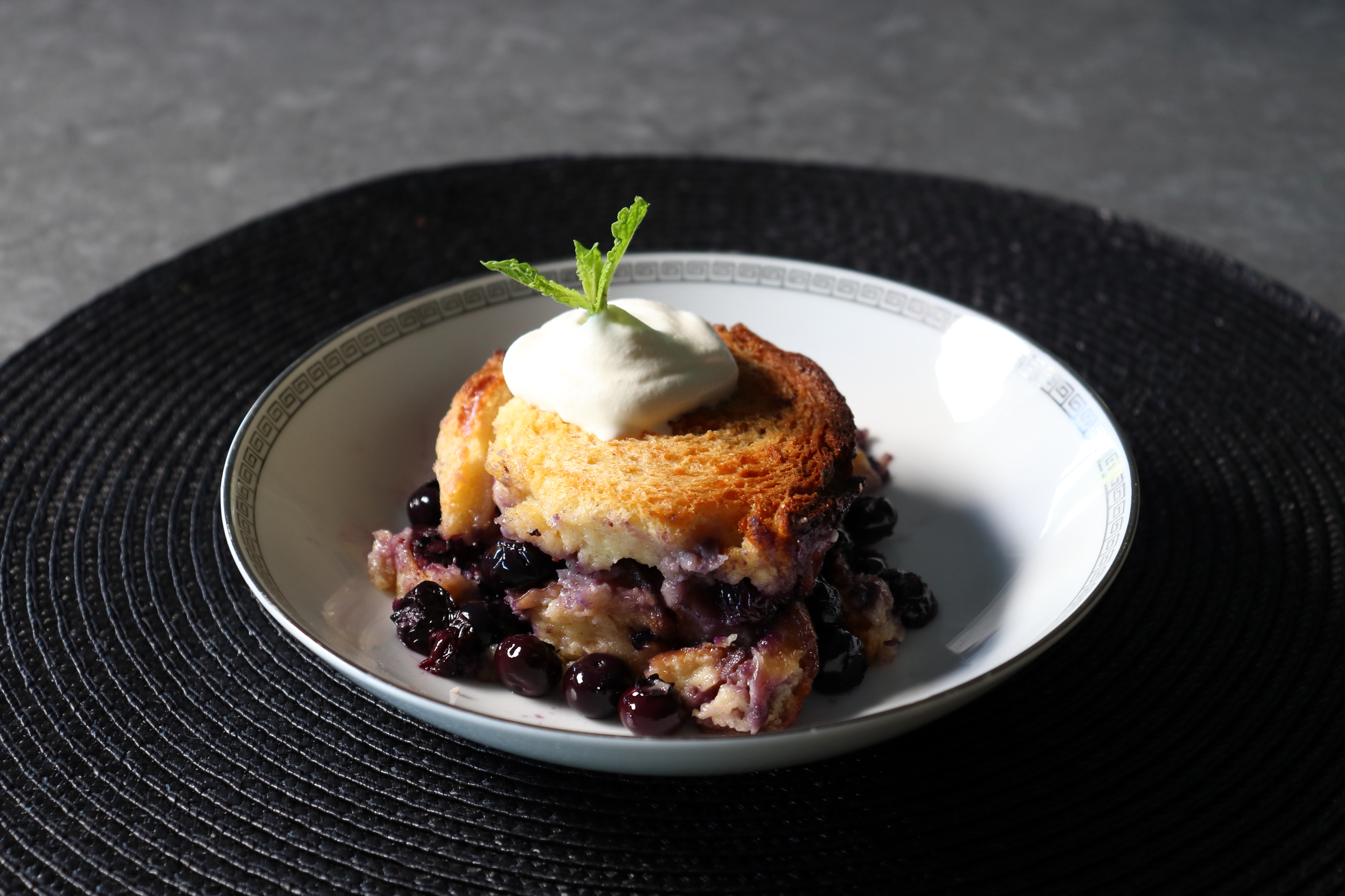 The Best Blueberry Bread Pudding Chef John