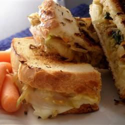 Grilled Cheese and Veggie Sandwich Linda T