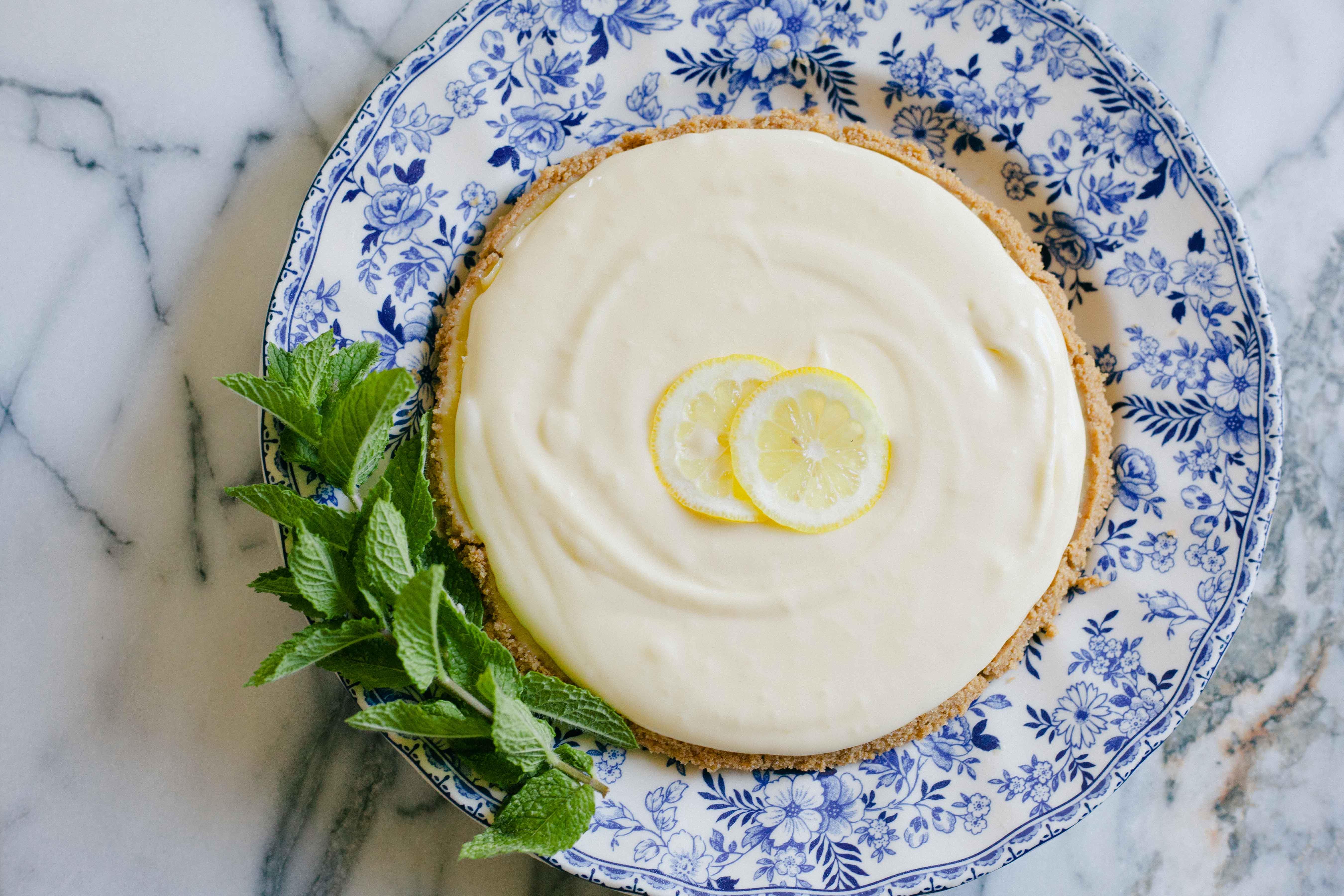 Grandma's Luscious Lemon Cream Pie