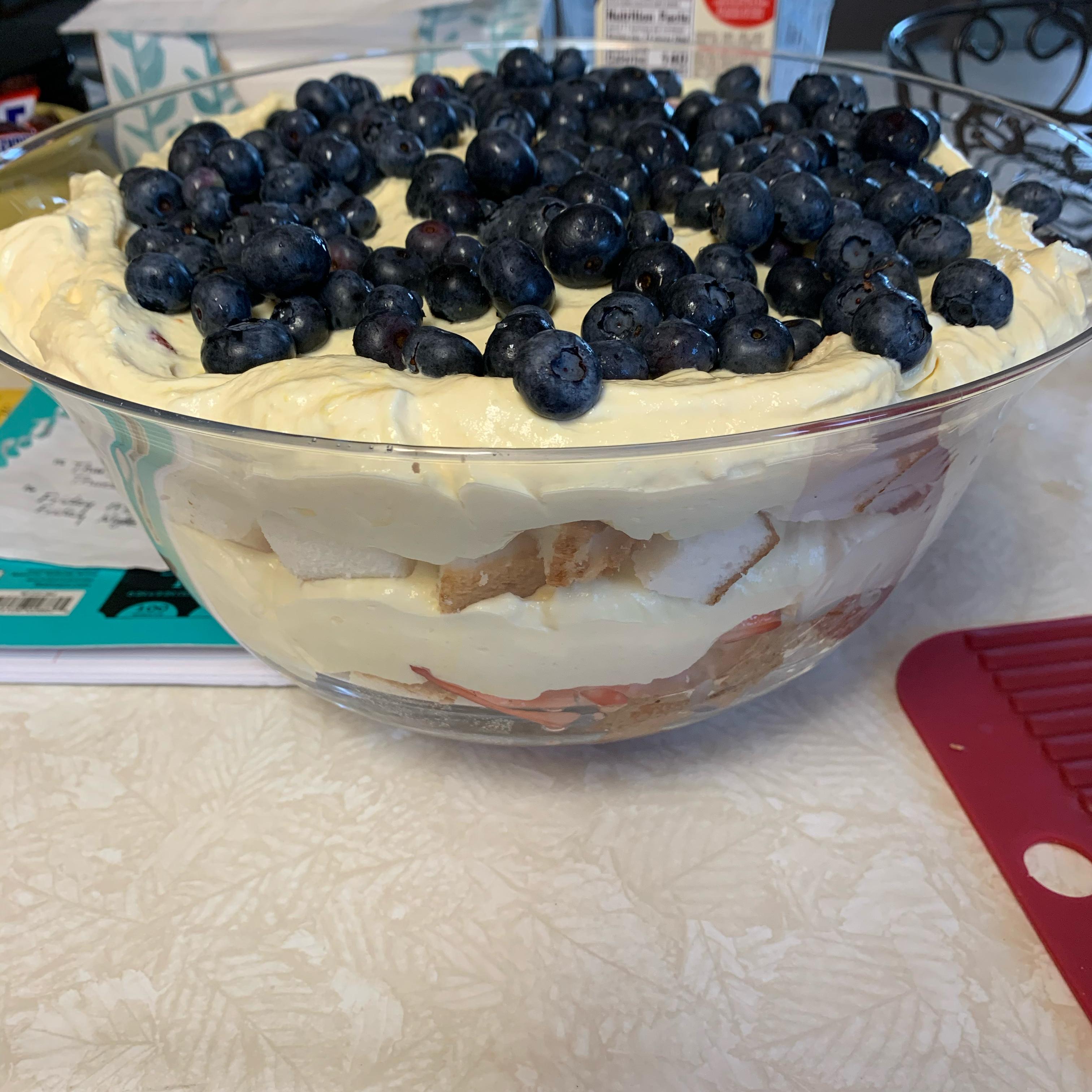 Super Strawberry Trifle