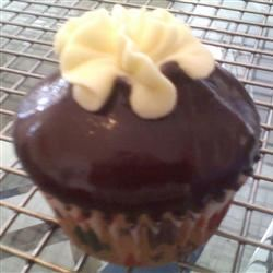 Boston Creme Mini-Cupcakes