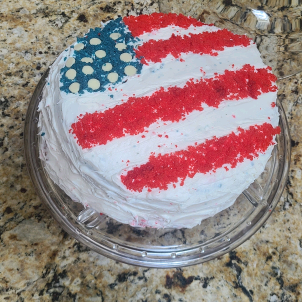 American Flag Cake Vimarys Leiwalo