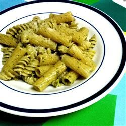 Pasta with Arugula Pesto ItalianSpice