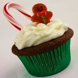 Gingerbread Cupcakes with Cream Cheese Frosting naples34102
