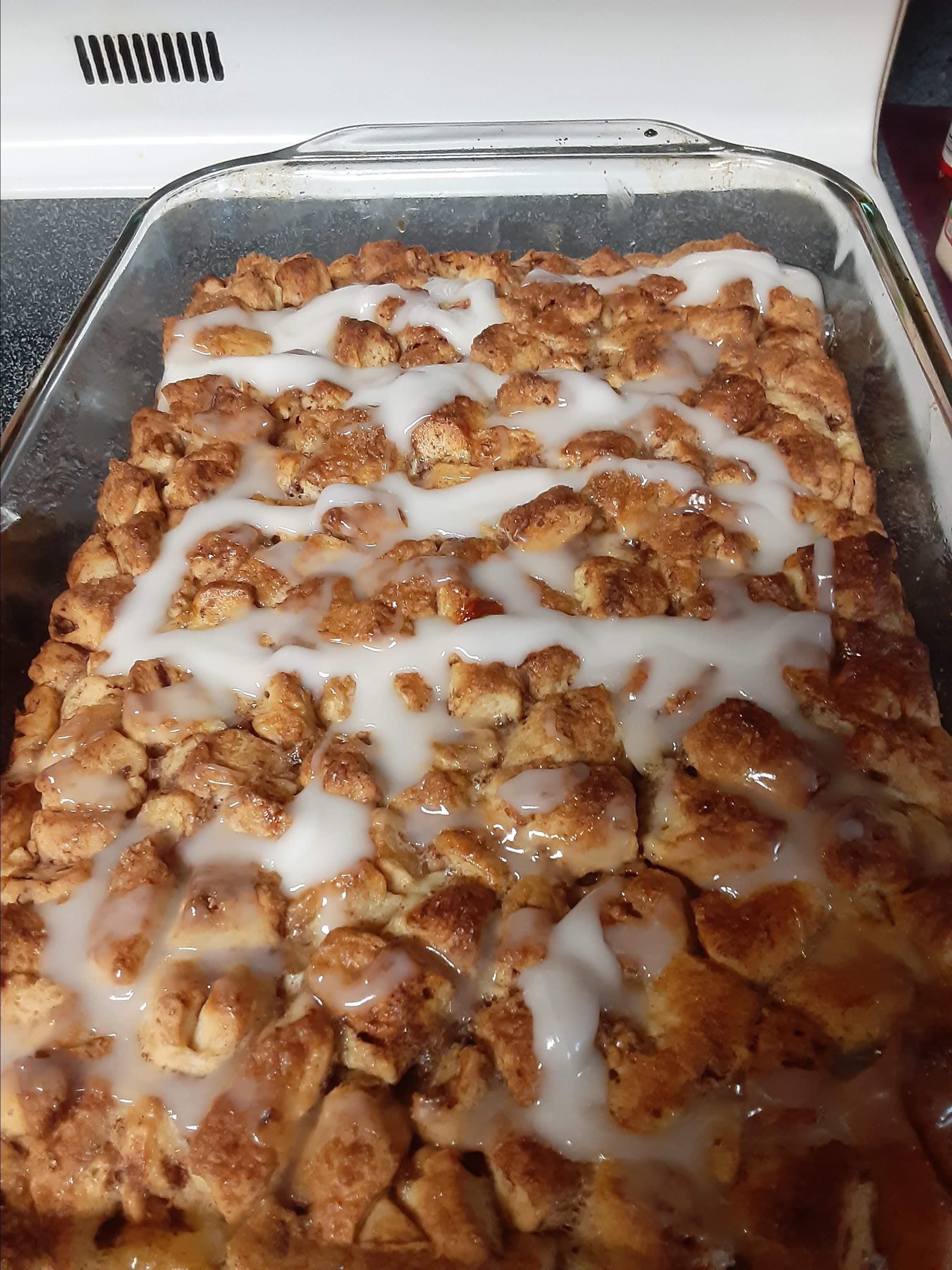 Quick and Easy Cinnamon Roll Casserole Sally Housenick