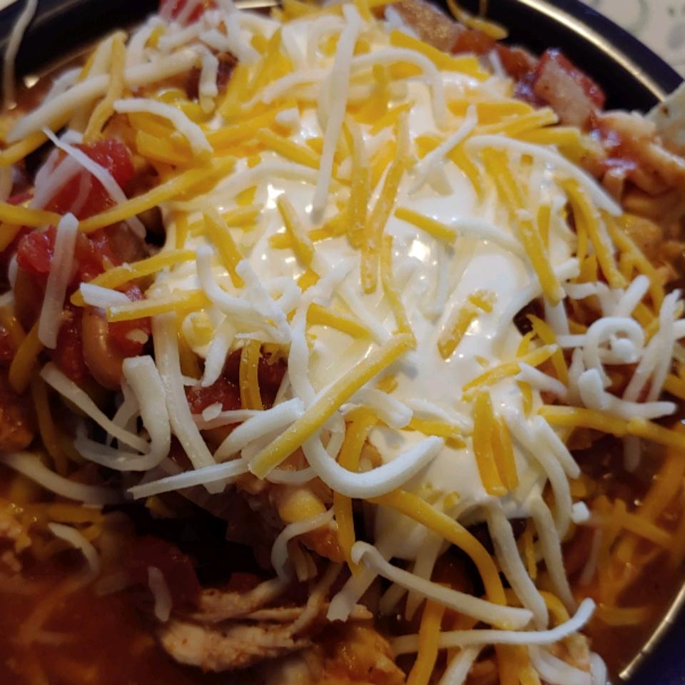 Slow Cooker Chicken Taco Soup Rattie_Jo