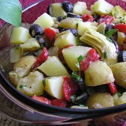 Balsamic Vinegar Potato Salad PEREGRINTOOK