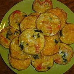 mini spinach and crab quiche recipe