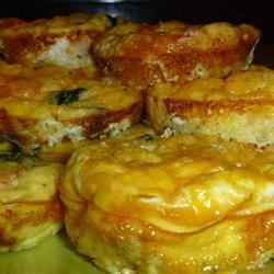 Mini Spinach and Crab Quiche dieghton