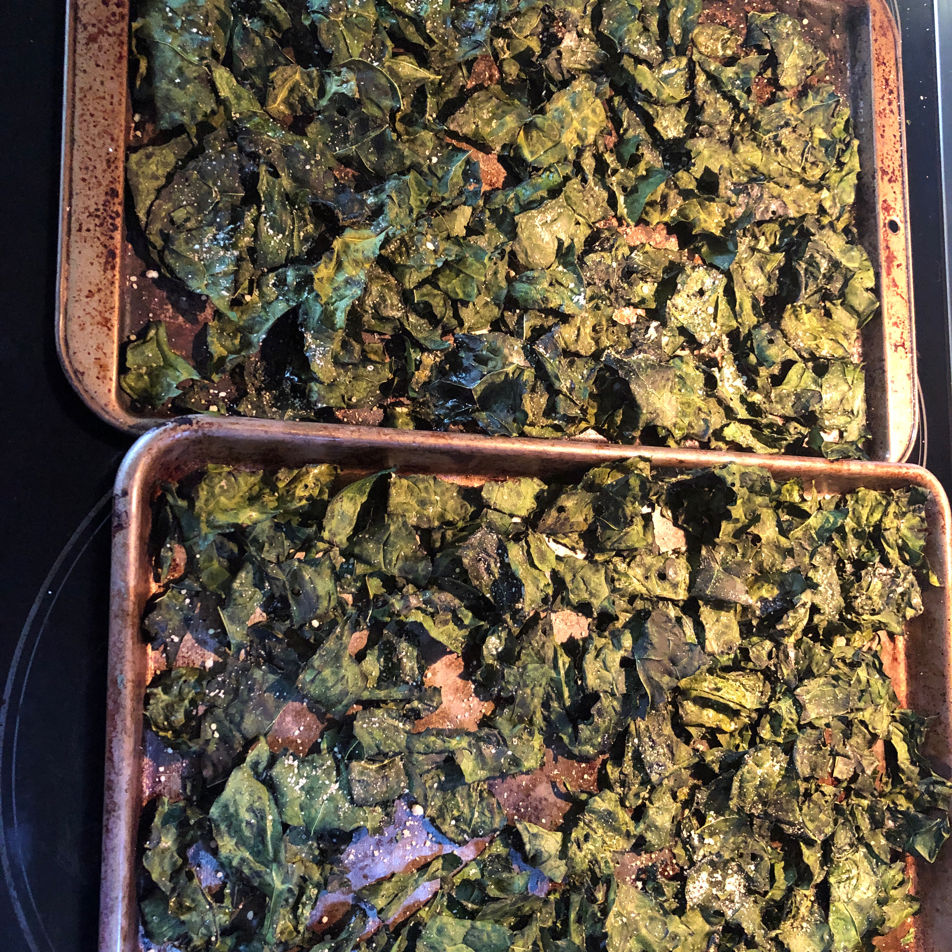 Kale Chips Chris Solomon