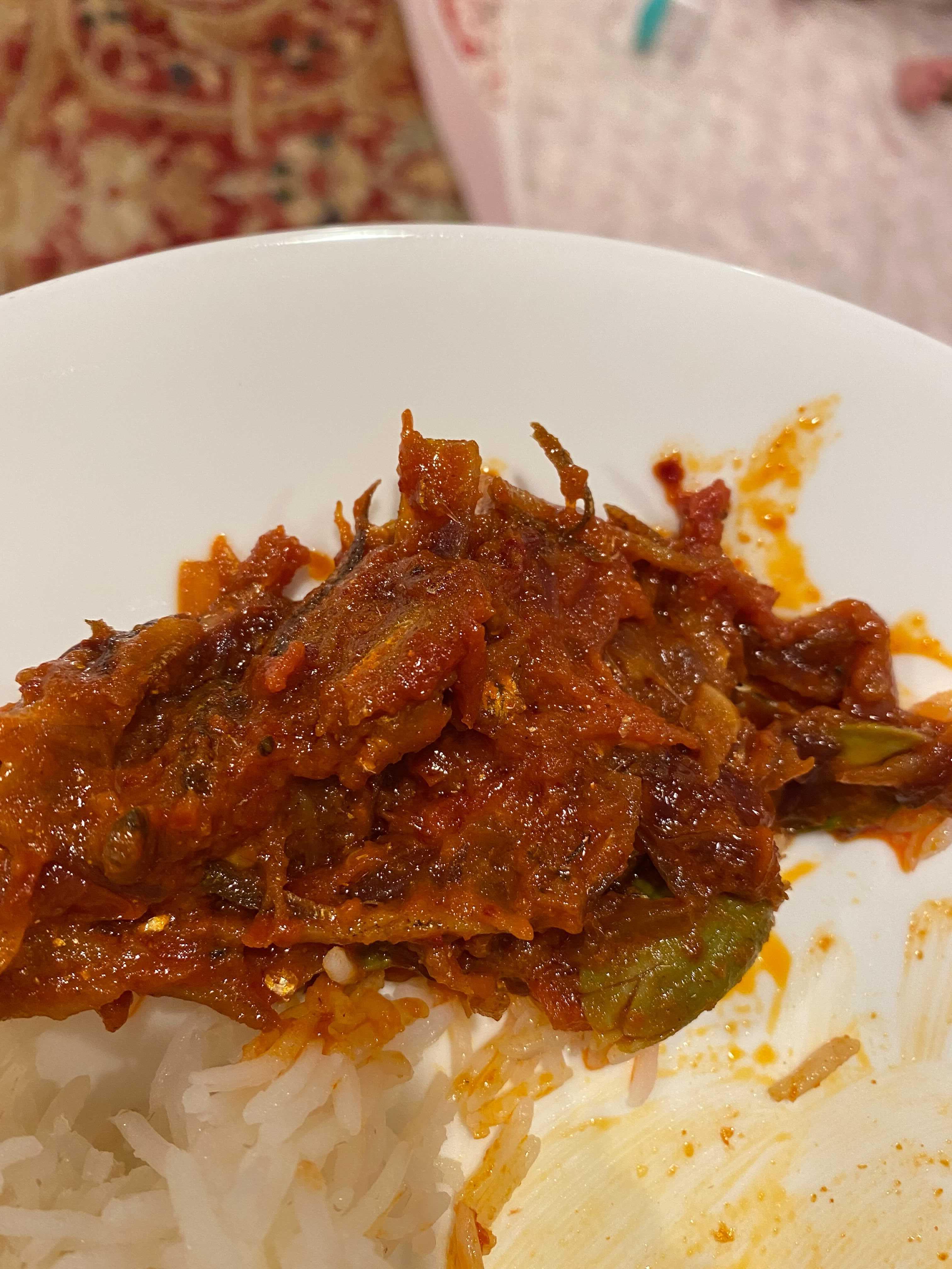Malaysian Nasi Lemak Javanthi
