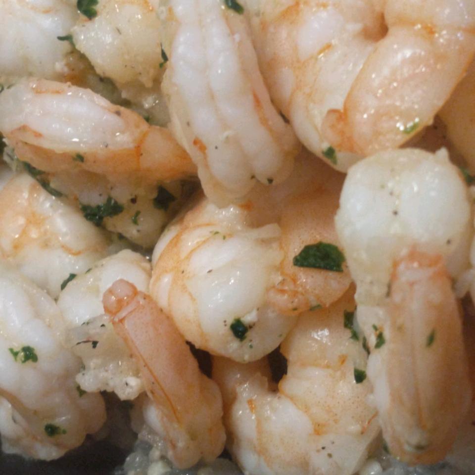 Garlic, Cilantro, and Lime Sauteed Shrimp Kyme Giertz
