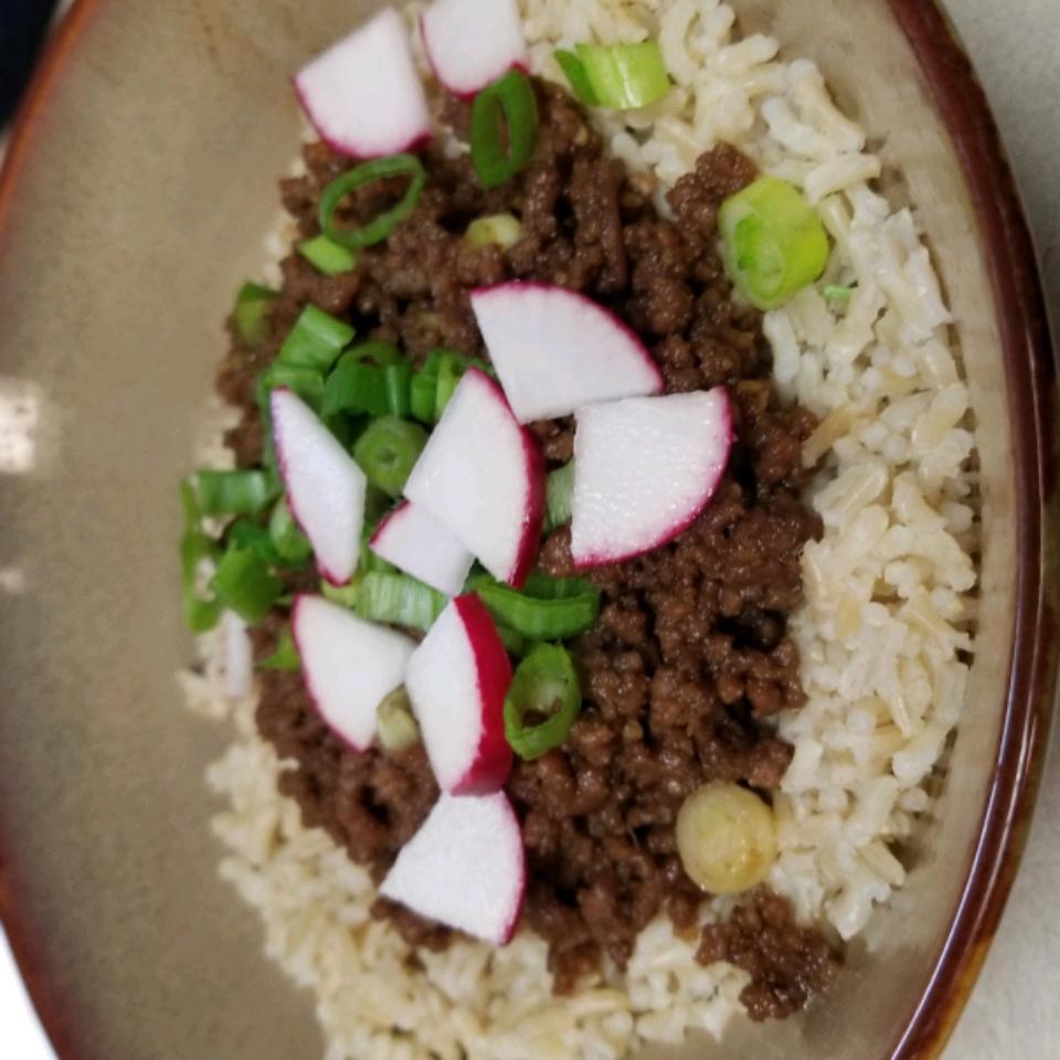 Easy Korean Ground Beef Bowl
