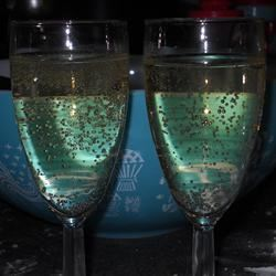 Non-Alcoholic Champagne Puck