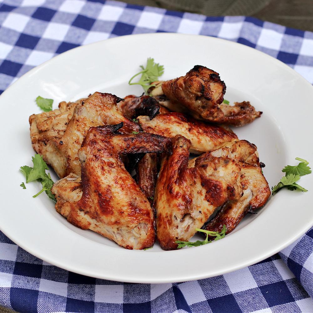 Jerk Grilled Chicken Wings