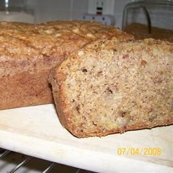 Zucchini Walnut Bread L. Belle