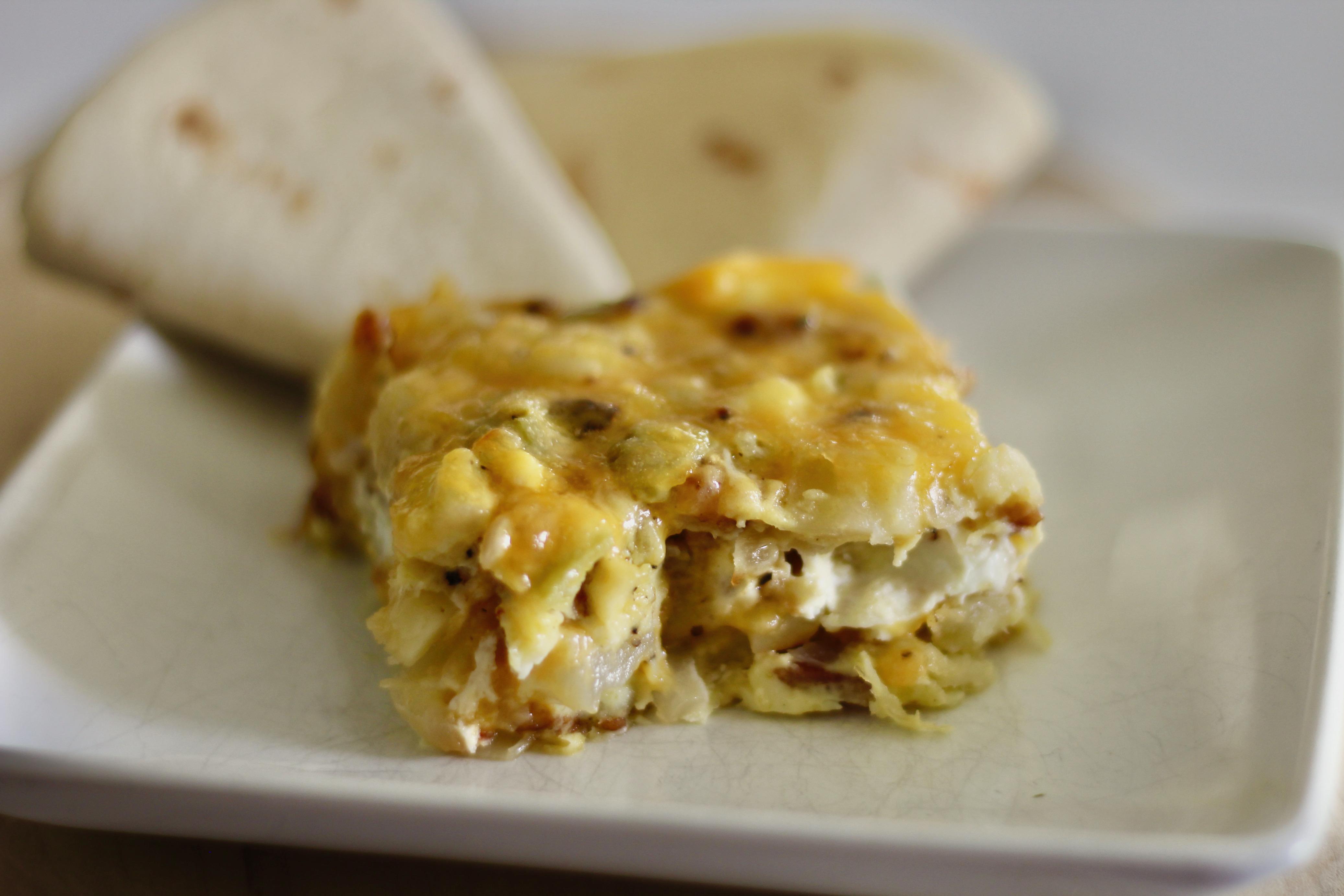 New Mexican Breakfast Casserole