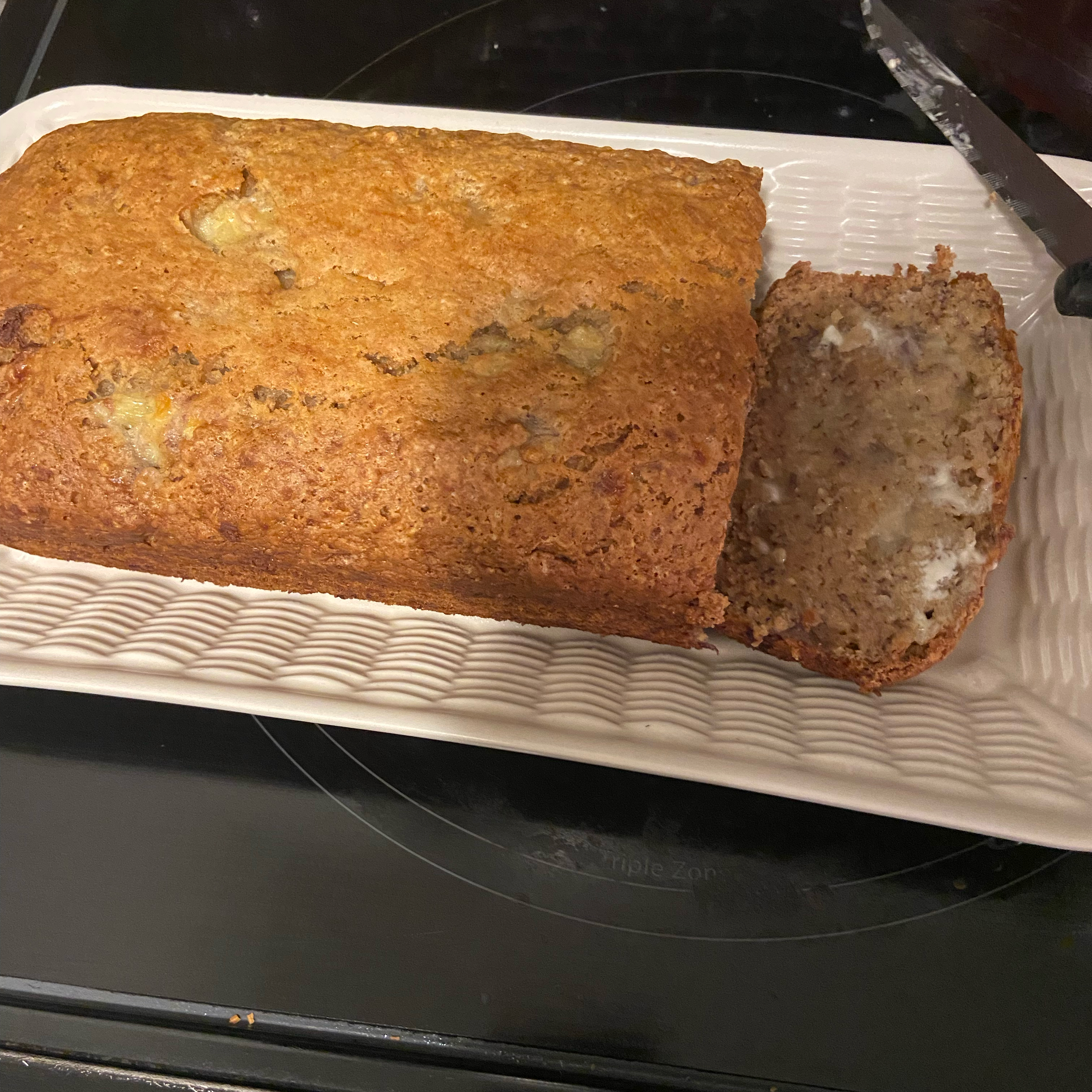 Almost No Fat Banana Bread Christy