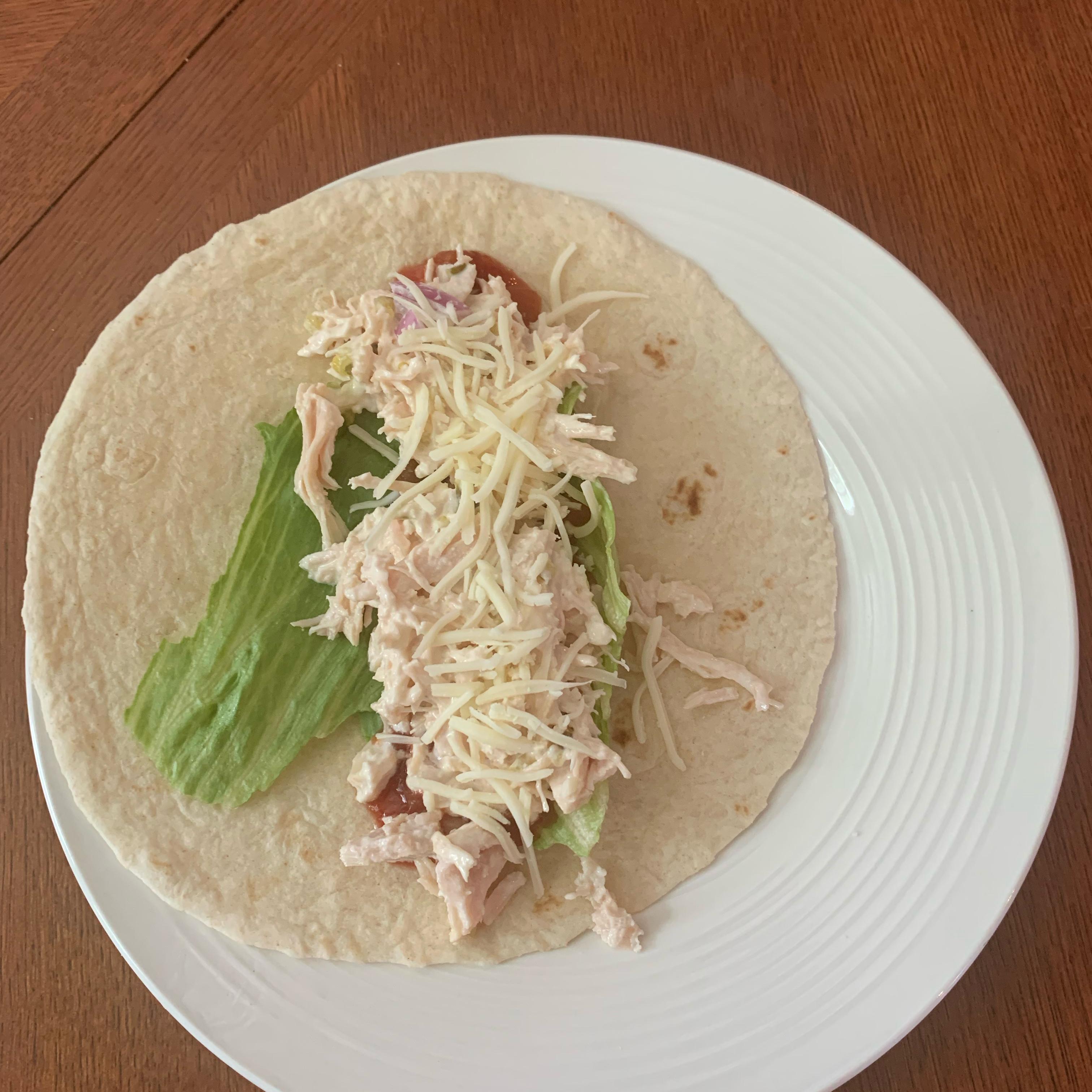Chicken Salad Wraps sphillips