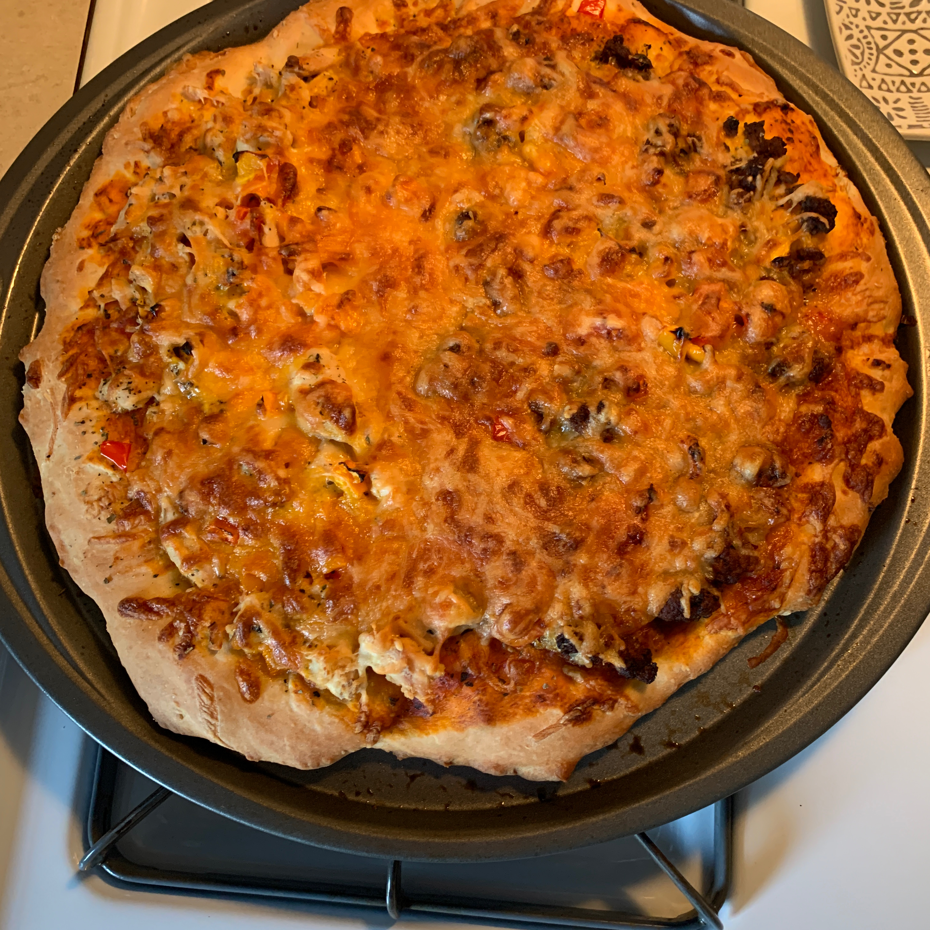 Quick and Easy Pizza Crust Kara Kendall