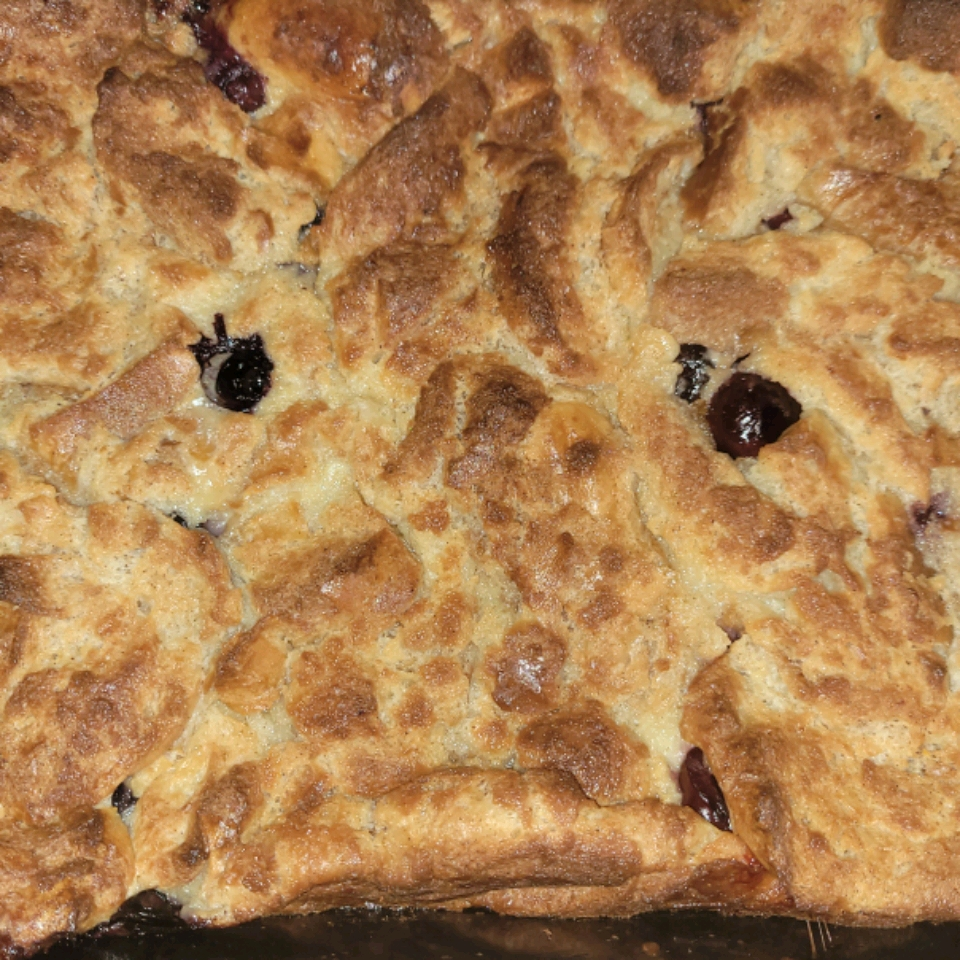 The Best Blueberry Bread Pudding Carlissa Terry