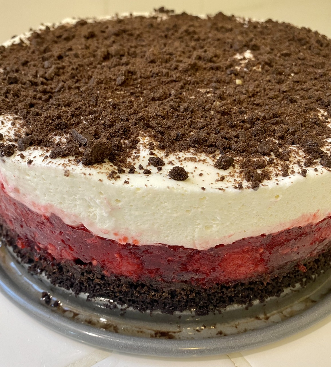 Raspberry Icebox Cake rebelene57