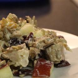 Sweet Leftover Turkey Salad
