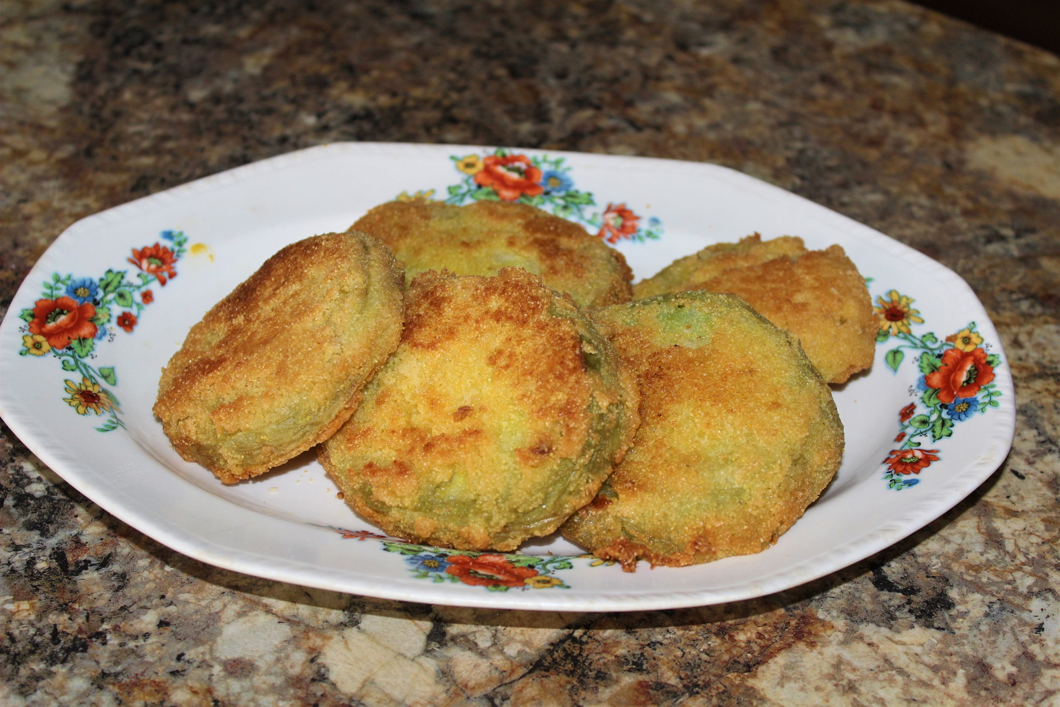 Easy Southern Fried Green Tomatoes Bunny McGreggorson