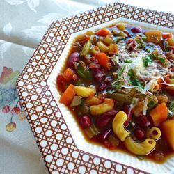 Slow Cooker Vegetarian Minestrone lutzflcat
