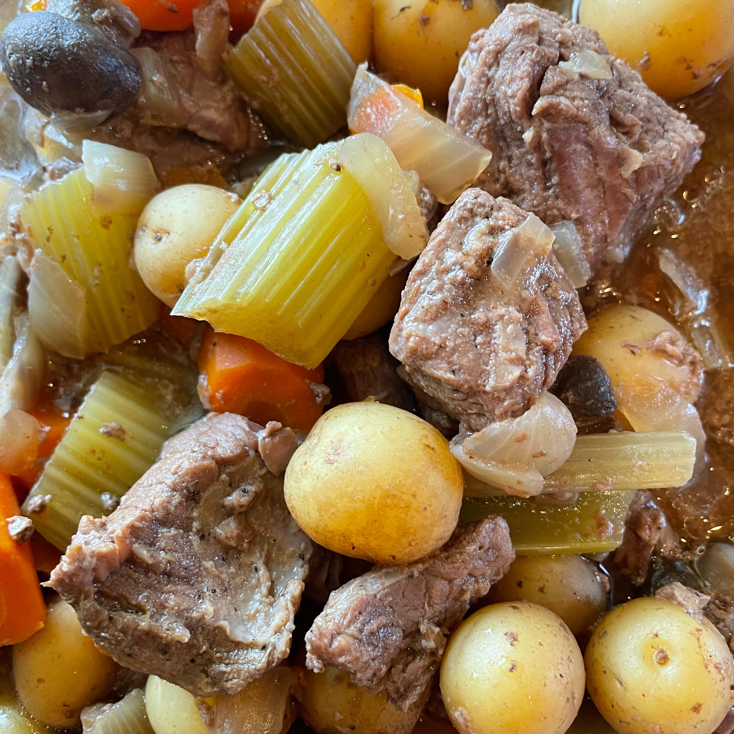 Slow Cooker Beef Stew I MSU