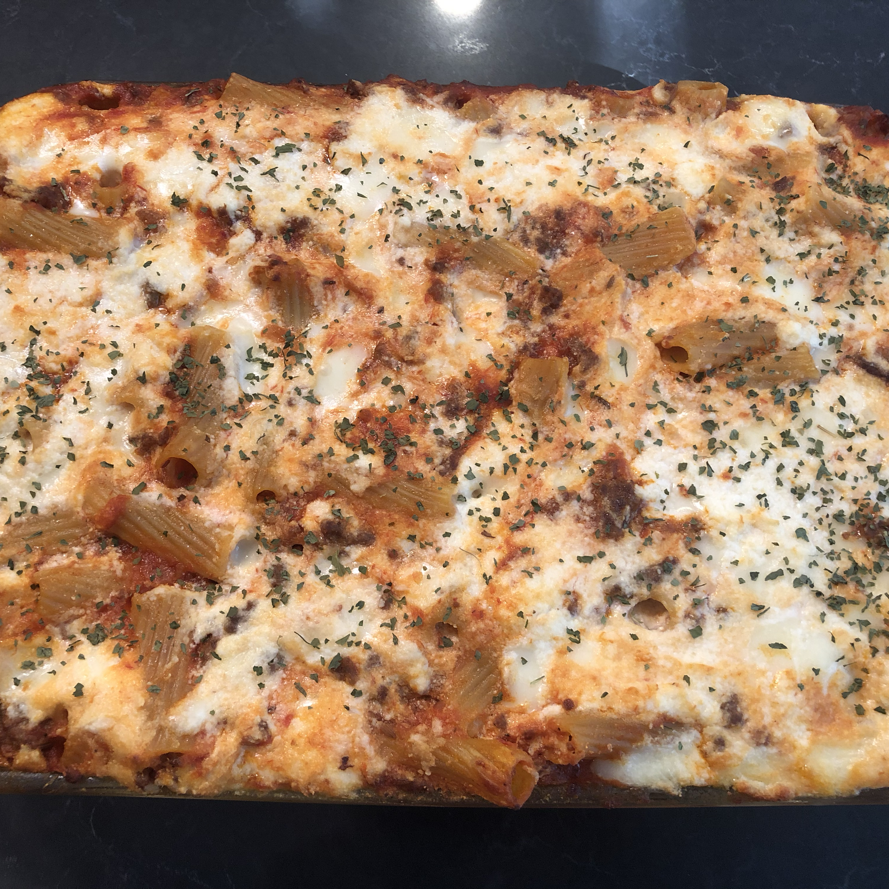 The Best Baked Ziti Drooms