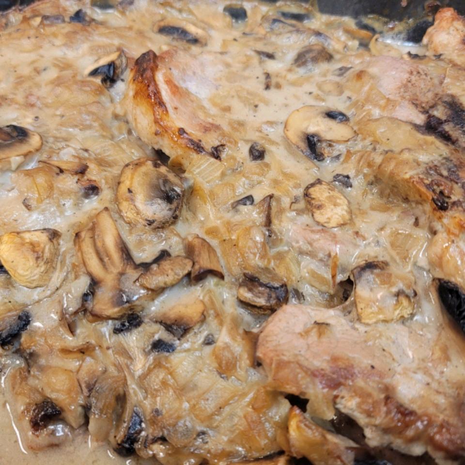 Mushroom Sauce Baked Pork Chops Cindy R