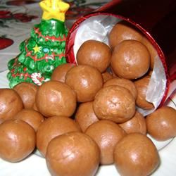 Fatty Natty's Peanut Butter Fudge Balls