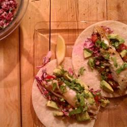 Blackened Tilapia Fish Tacos Jenn