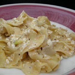 Polish Noodles (Cottage Cheese and Noodles) Joey Joan
