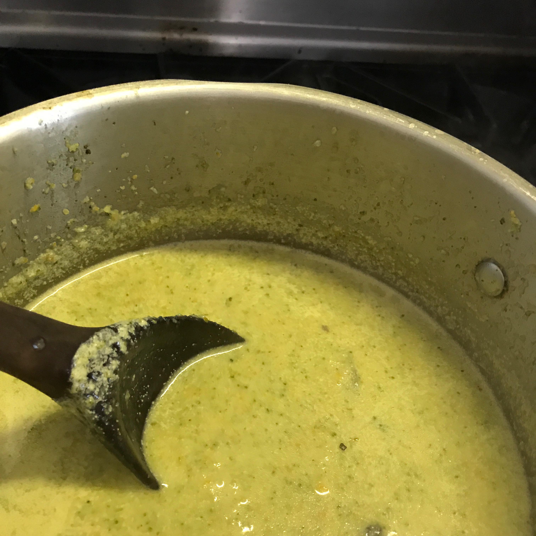 Creamed Broccoli Soup Susan Starkey