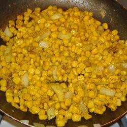 Sauteed Curried Corn sixkyej