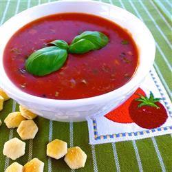 Parmesan Basil Tomato Soup lutzflcat