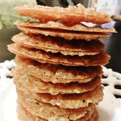 Oatmeal Lace Cookies bakinggirl