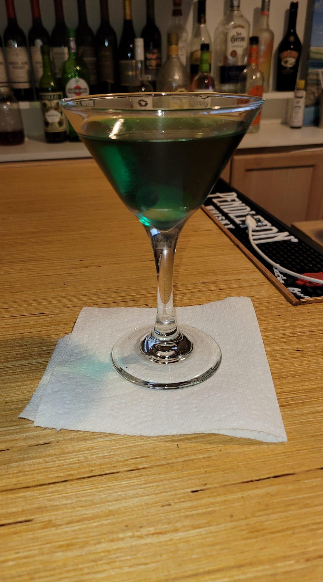 Blue Sky Martini Don Dattler