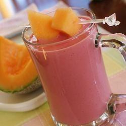 Cantaloupe Berry Smoothie