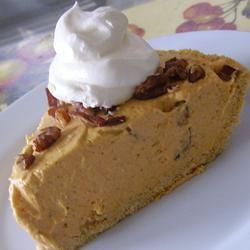 Pumpkin Pecan No-Bake Cheesecake Pie Melissa Goff