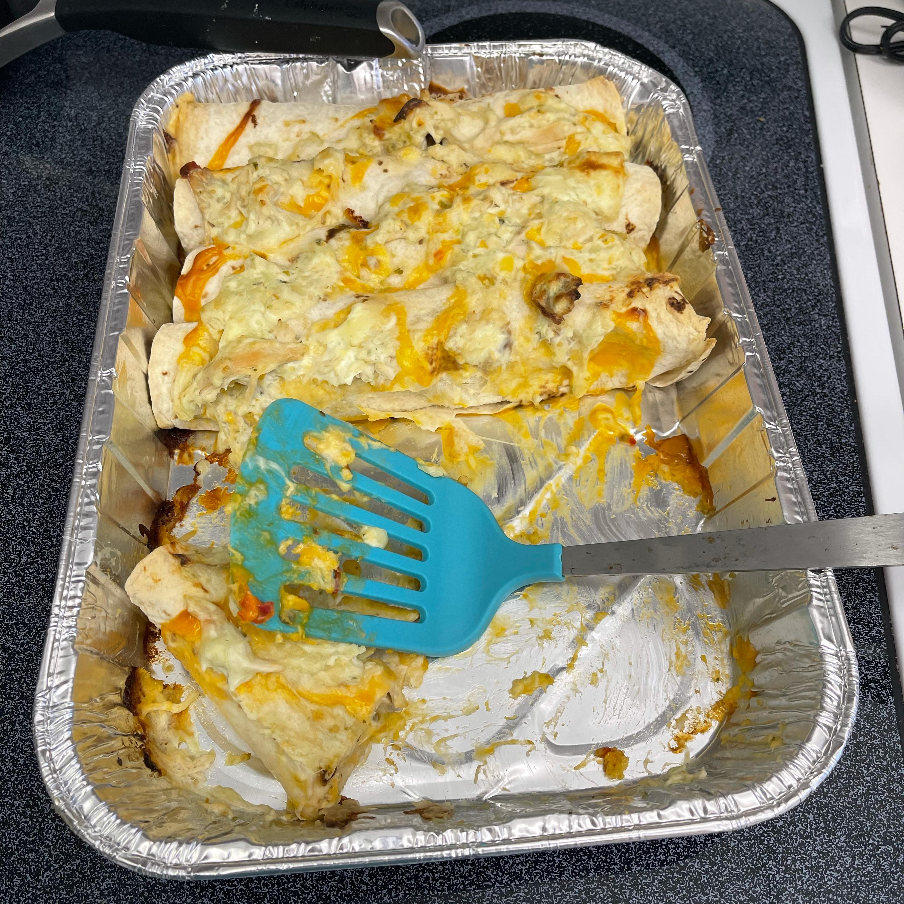 Easy White Chicken Enchiladas Beth Tomkow