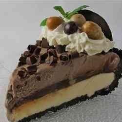 Coffee Liqueur Ice Cream Pie