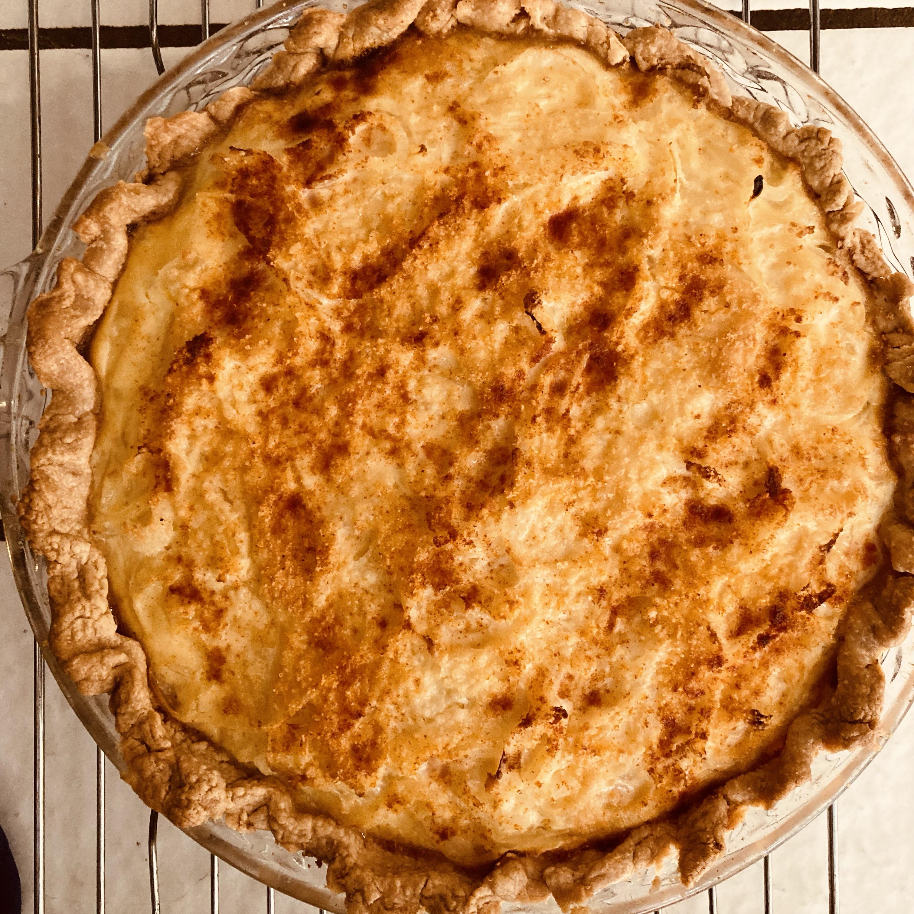 Vidalia Onion Pie Pat