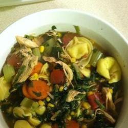 Spinach Tortellini Soup JenMuth