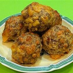 easy sausage balls recipe